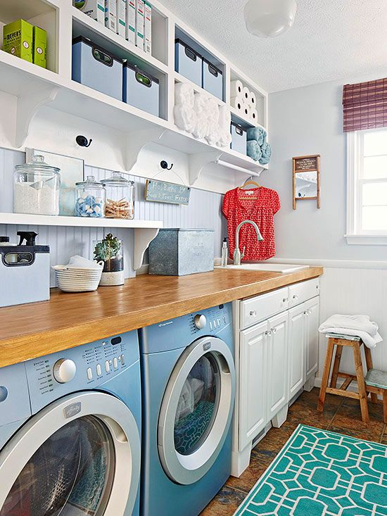 19 Laundry Room Cabinet Ideas with Hardworking Style   Laundry .