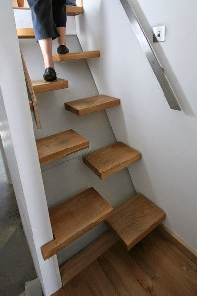 5 Creative Staircase Ideas for Tiny House RVs | Space saving .