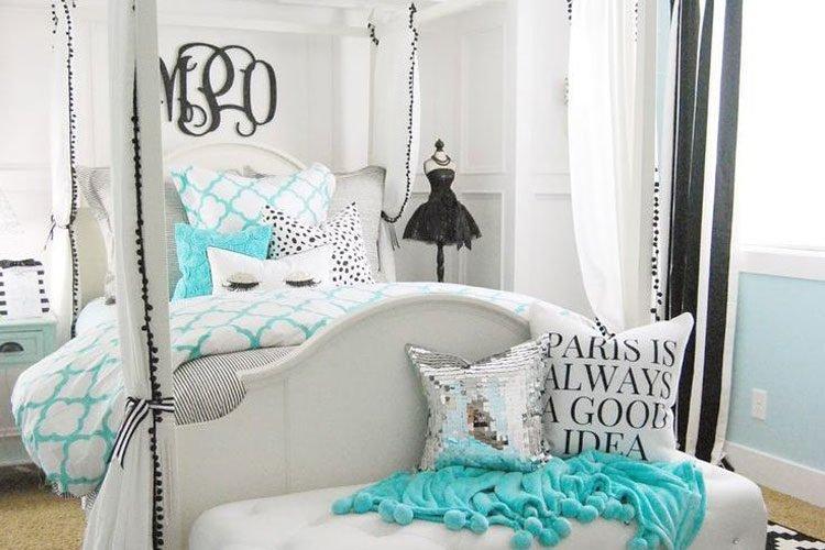 65 Cute Teenage Girl Bedroom Ideas (2021 Room Deco