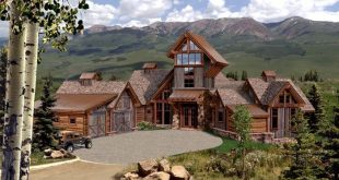 mountain homes | Steps To Decorating Your Mountain Home On A .