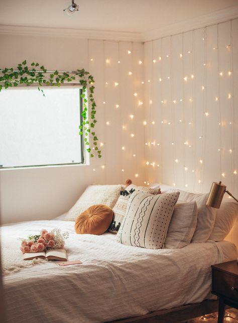 52 Trendy Wall Decored Bedroom Diy Fairy Lights Dorm Room .