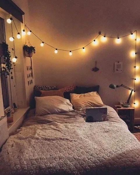 DIY Fairy Light for Minimalist Bedroom   Decoration