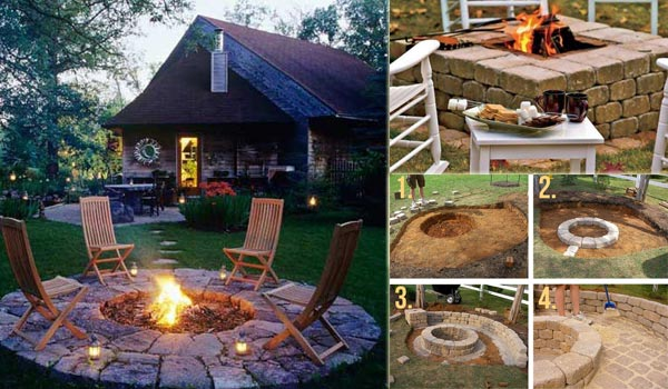 38 Easy and (Low-Cost) DIY Fire Pit Ideas - WooHo