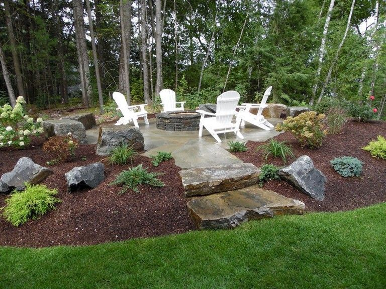 DIY Fire Pit Ideas for Backyard   Landscaping