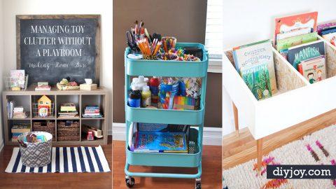 30 DIY Organizing Ideas for Kids Roo