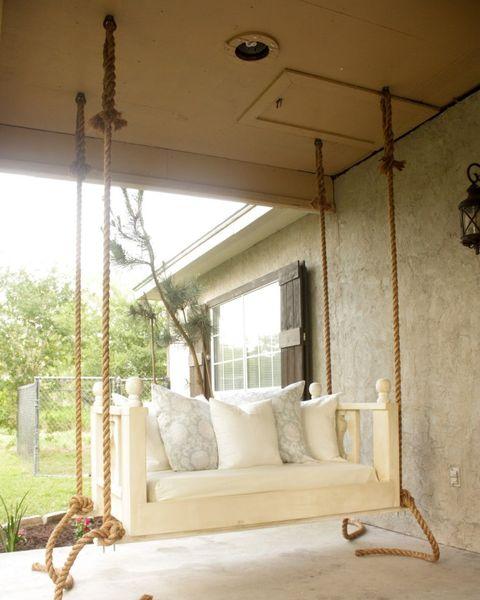 16 Porch Swing Plans - DIY Porch Swi