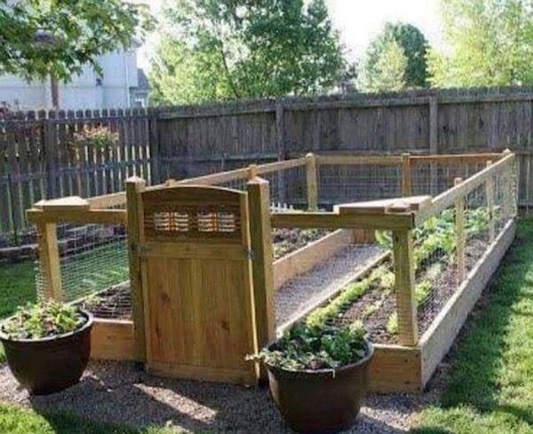 DIY Raised and Enclosed Garden Bed Ideas