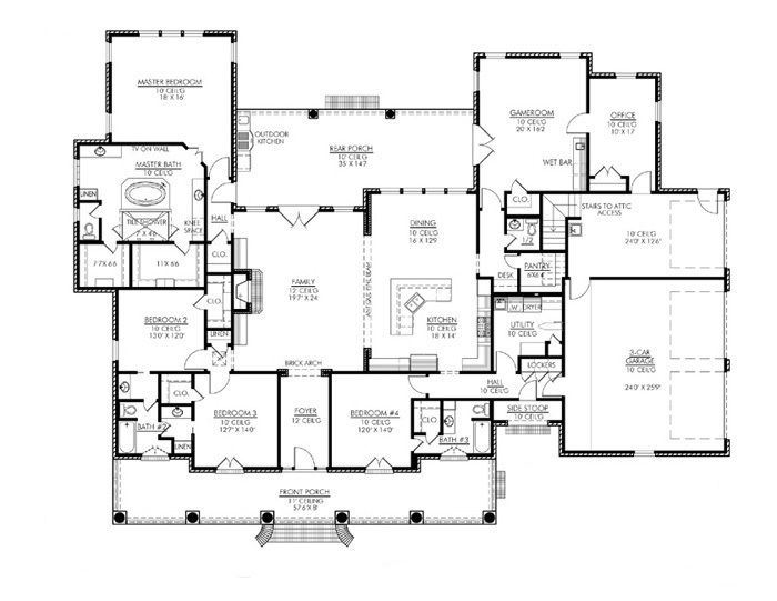 View Plans   Dream house plans, Floor plans, My dream ho