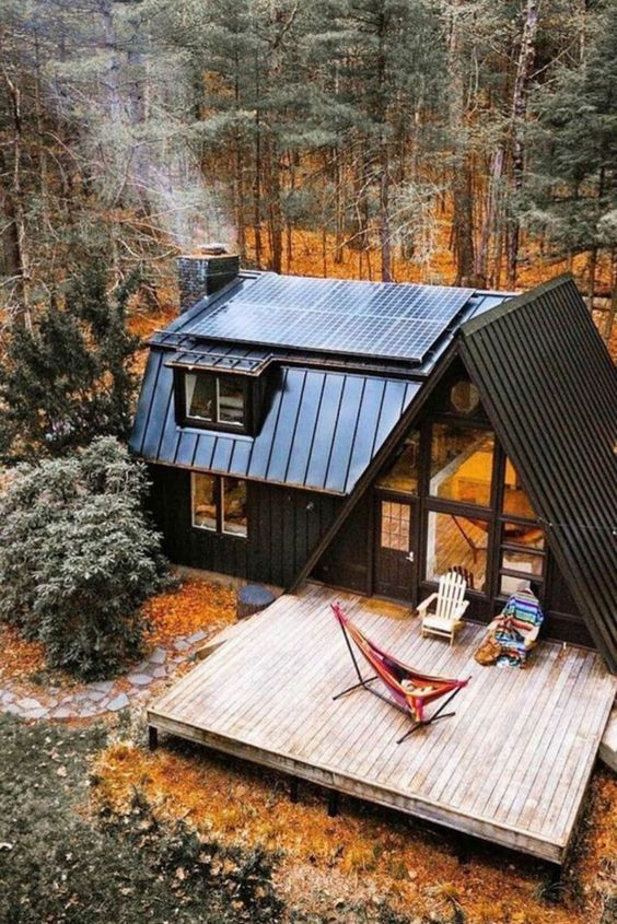 Dream House Small Cabins and Cottages   Design Ideas