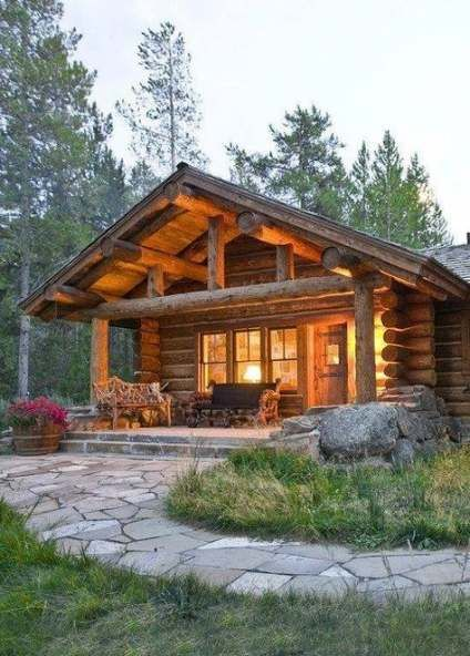 House dream homes beautiful log cabins 35+ Ideas for 2019   Cabins .