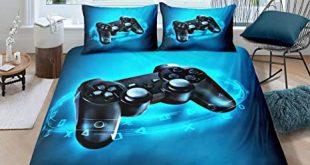 Amazon.com: Gamer Bedding Set Full Size for Kids Boys Game Room .