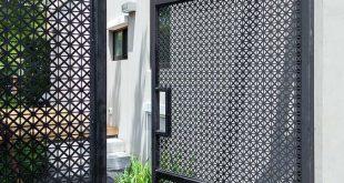 40 Spectacular Front Gate Ideas and Designs   Door gate design .