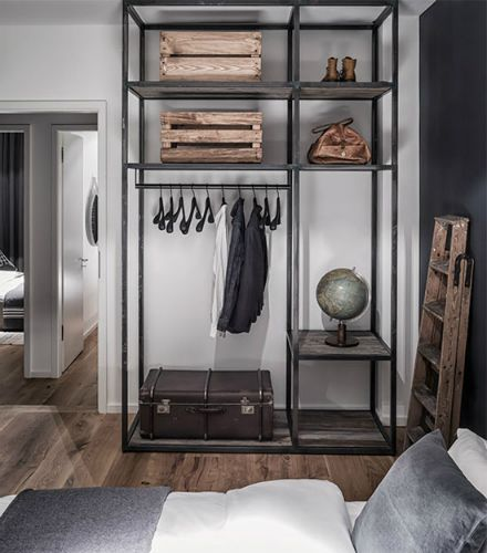10 industrial style closet designs that you'll love | Industrial .