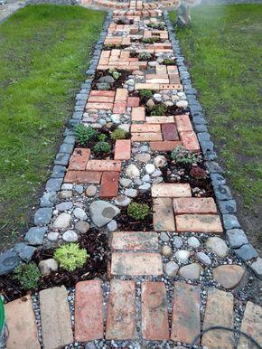 40+ Amazing DIY Garden Path and Walkways Ideas - Home Designs .