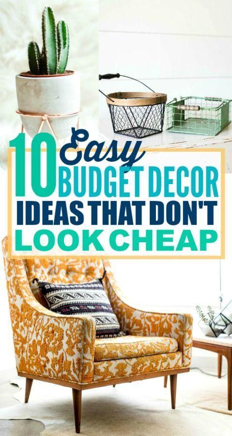 Extraordinary Home Decor Ideas on a   Budget