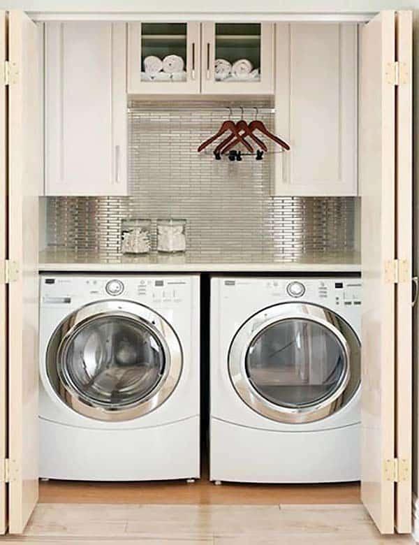 60 Amazingly Inspiring Small Laundry Room Design Ide