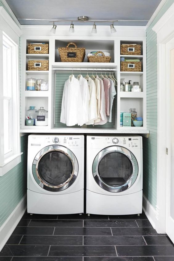 12 Amazing Small Laundry Room Ideas For Small Plac