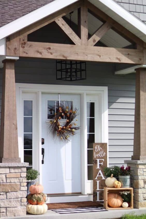25 Porch Roof Ideas – Boost Your Curb Appeal   Front porch remodel .