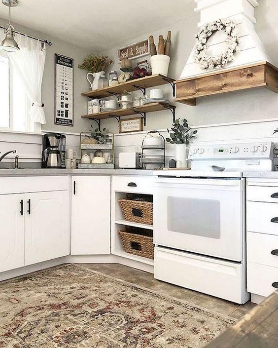 rustic kitchen ideas, farmhouse kitchen designs, country style .