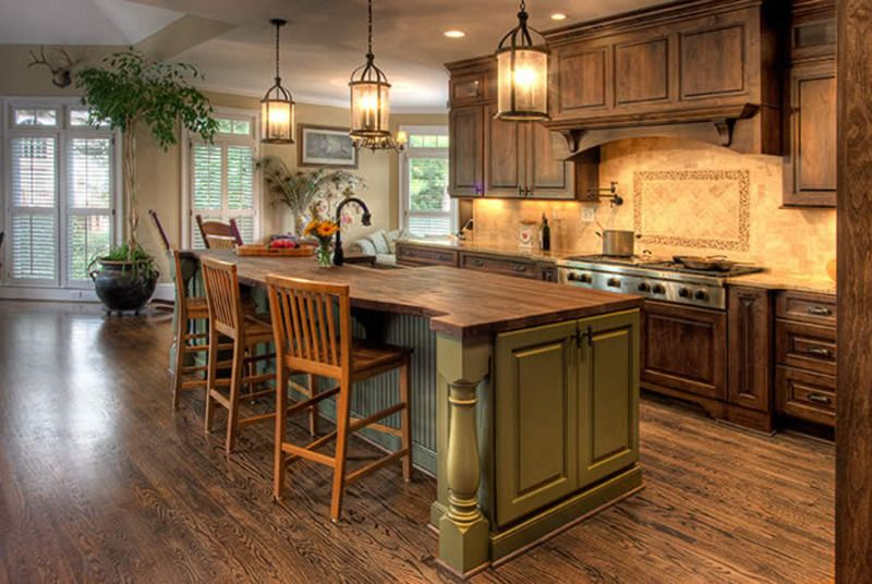 country home design ideas, country design   Country kitchen .