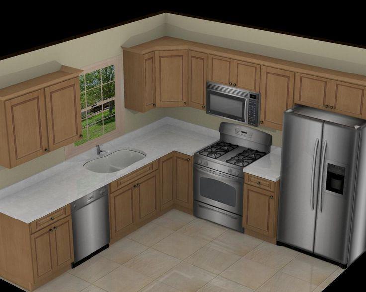 Small Kitchen Design Layouts. Small Kitchen Design Layout 10X10 .
