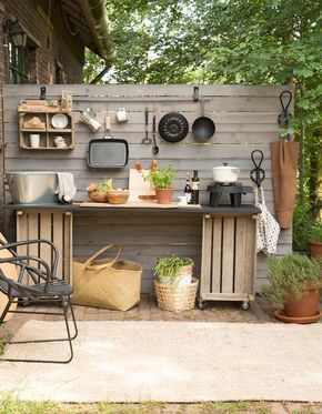 45 Awesome Outdoor Kitchen Ideas and Design - Pandriva | Small .
