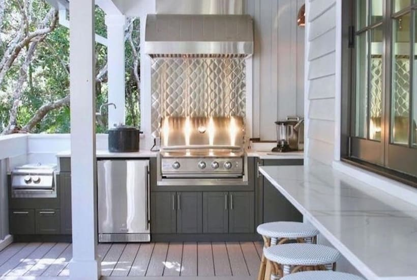 Finest Rustic Outdoor Kitchens