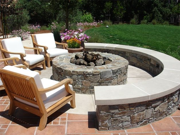 Outdoor Fire Pit Design Ideas - Landscaping Netwo