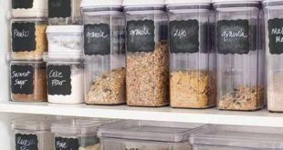 Organizing with Container Store Products - Happy Happy Nester .