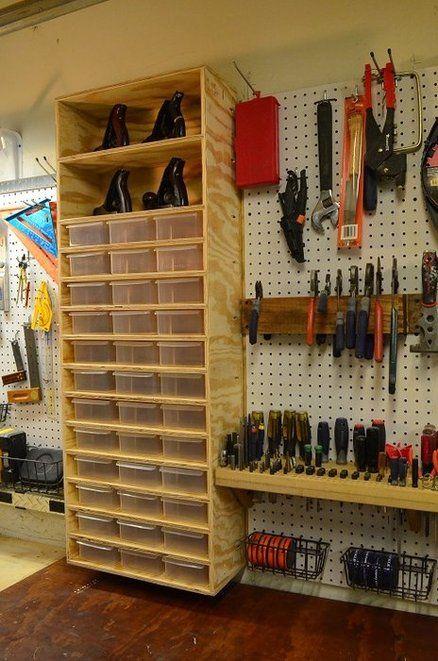 Bravo's Woodshop Renovation Project Pt-2   Garage organization .