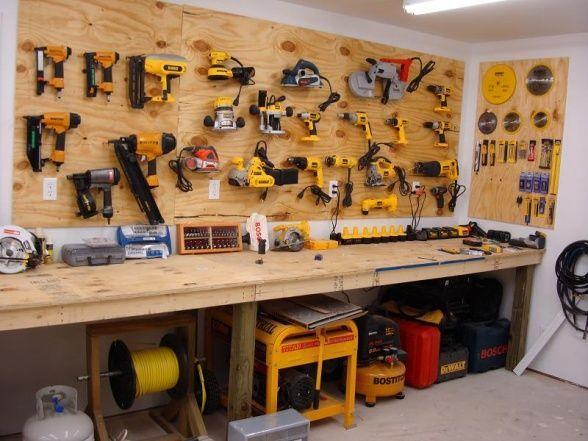 Garage Workshop Organization Ideas