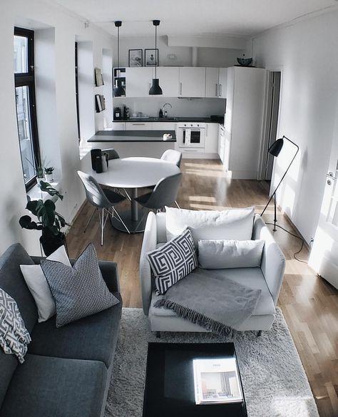 Gray Living Room Design Ideas For Apartment
