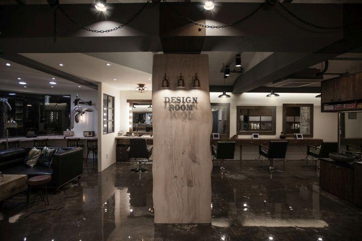 Design Room Hair Salon by SSOMOO DESIGN, Seoul – South Korea .