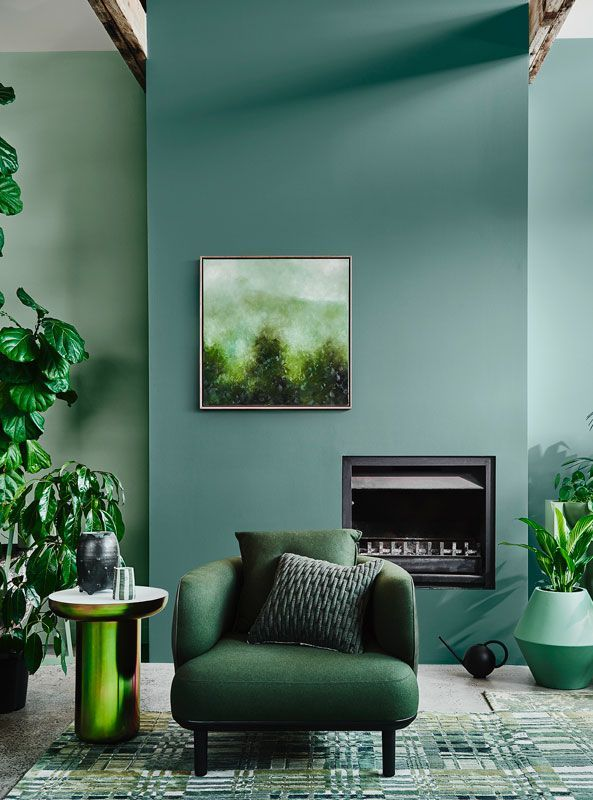 Home Interior Paint Green Colors