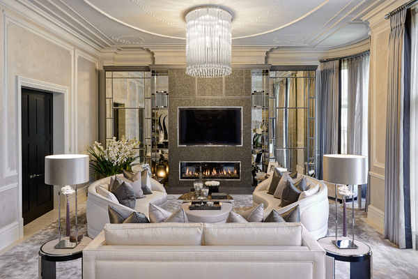 Interior Design Ideas for Luxury Living Rooms and Reception Roo