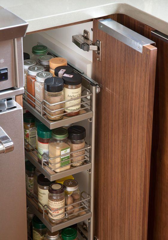 Smart Storage Ideas for Small Kitchens   Kitchen cabinet .
