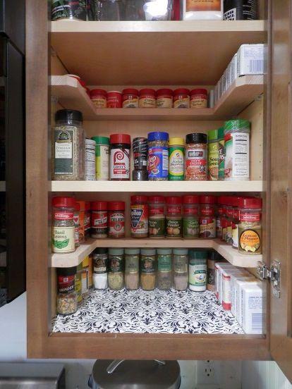 DIY Spicy Shelf organizer   Kitchen organization diy, Diy kitchen .