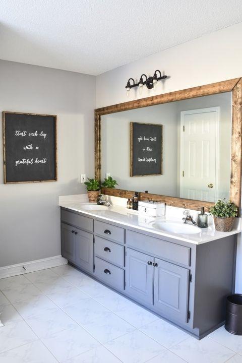 Ideas for Farmhouse Master Bathroom   Design and Decoration