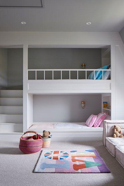 Kids' bedroom ideas   Bunk beds built in, Bunk bed designs, Small .