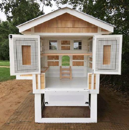 40+ Inspired DIY Chicken Coop Design Ideas 1   Diy chicken coop .