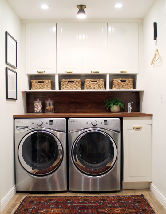 Ideas to Steal from 10 Stylish and Functional Small Laundry Rooms .