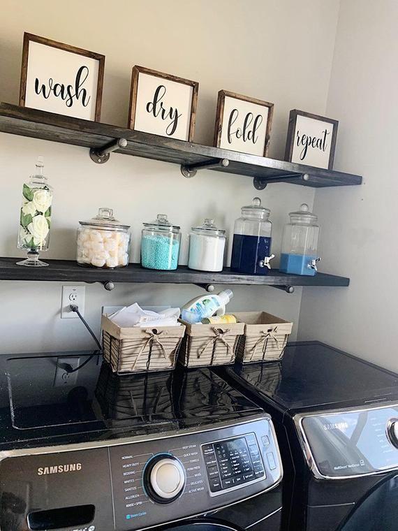 Inspiring Laundry Room Decor and Storage   Ideas
