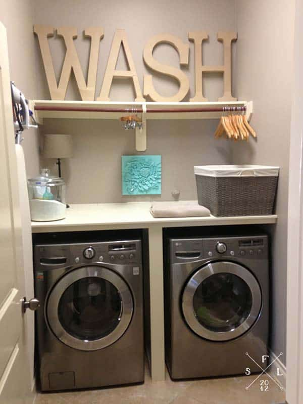 Inspiring Laundry Room Ideas for Small Spaces