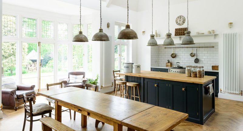 Inspiring Rustic Stylish Vs. Industrial   Home Decor Type Ideas