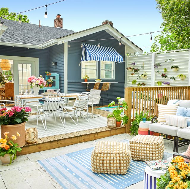 25 Small Backyard Ideas - Small Backyard Landscaping and Patio Desig