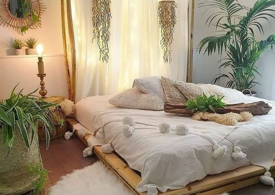 Must-Try Bohemian Bedroom Ideas That'll Interest You ~ Matchness.c