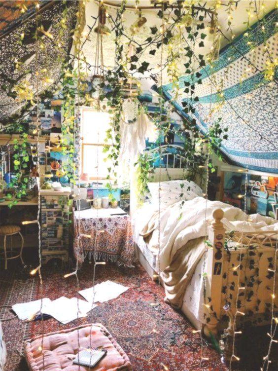 Boho room indoor plants Bohemian decor jungle of interest .