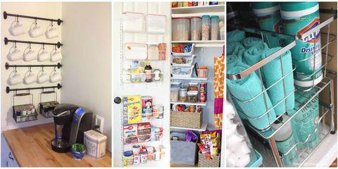20 Kitchen Organization and Storage Ideas - How to Organize Your .