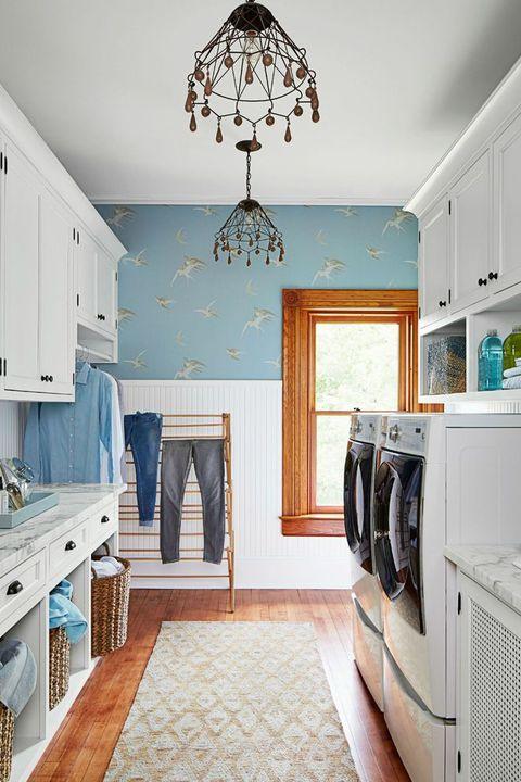 50 Small Laundry Room Ideas - Small Laundry Room Storage Ti