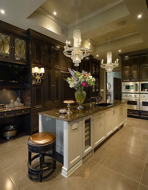54 Exceptional Kitchen Designs | Luxury kitchens, Beautiful .